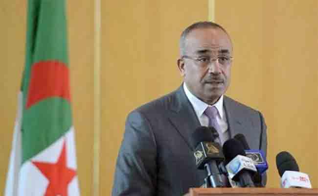 بدوي يستقبل السفير الأمريكي بالجزائر و يتطرق معه إلى فرص التعاون