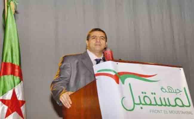 رئيس جبهة المستقبل بلعيد : أزمة الجزائر