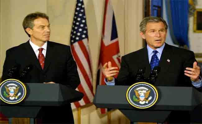 من ظَلل بريطانيا فيما يخص غزو العراق ؟