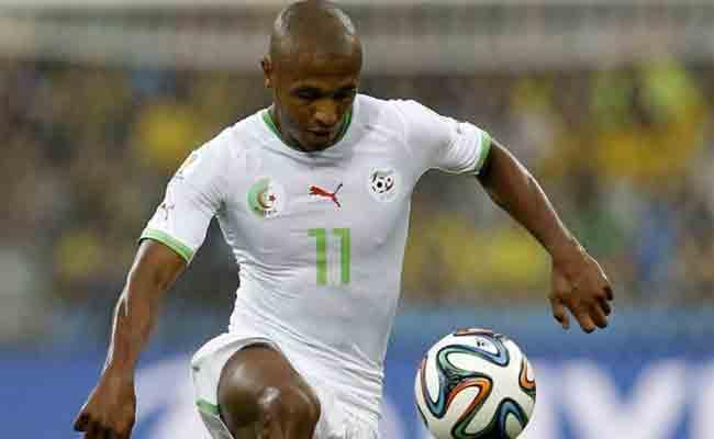 براهيمي مرشح لأفضل لاعب افريقي