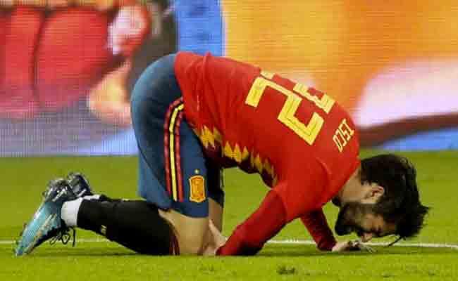 إيسكو يغادر تربص المنتخب الاسباني
