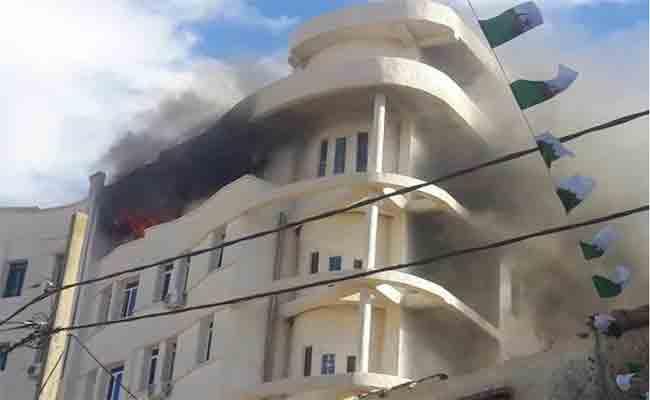 نشوب حريق بمقر بلدية البويرة و الوالي يطالب بتقرير حول الحريق