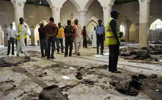إدانة جزائرية للاعتداء الإرهابي الذي استهدف مسجدا بمدينة موبي بنيجيريا