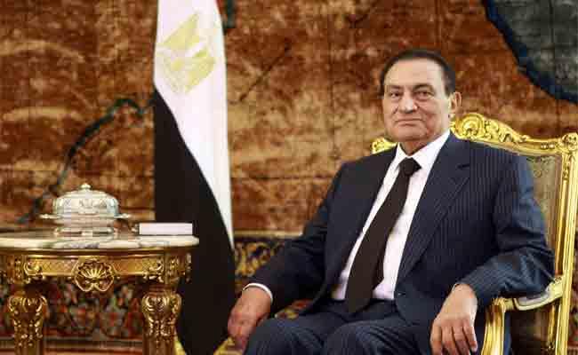 مبارك يرد على