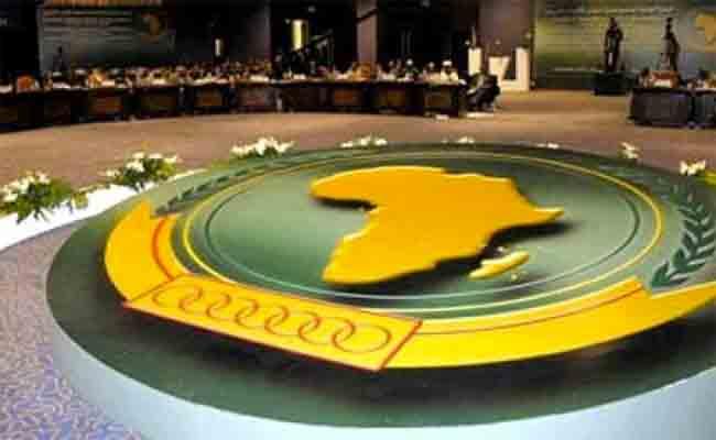 مشاركة الجزائر في أشغال الدورة الوزارية العادية الثالثة للجنة التقنية المختصة للاتحاد الافريقي حول العدالة والمسائل القانونية