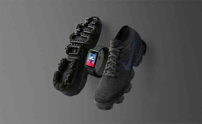 أبل ستطلق طبعة محدودة من ساعتها أبل ووتش سلسلة 3 بتصميم يرافق ذلك من حذاء نايك القادم