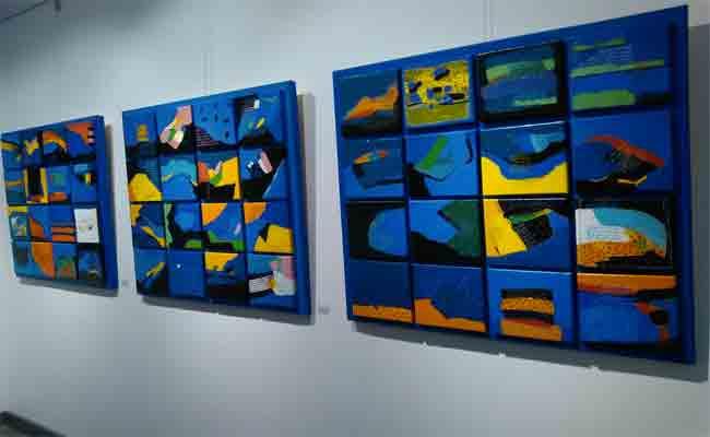 أورقة عمر راسمي تعرض أعمال التشكيلي