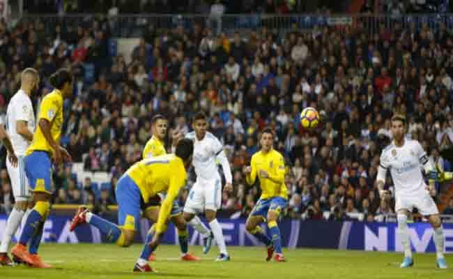 ريال مدريد يكتسح لاس بالماس