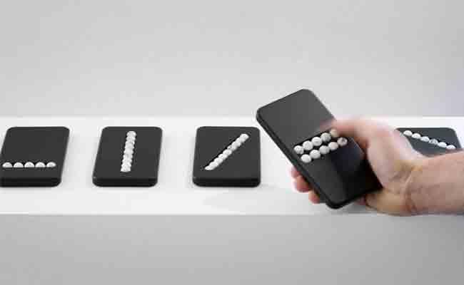 جهاز على شكل هاتف لمساعدة مدمني الهواتف الذكي