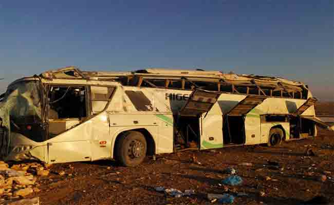 مقتل شخص و إصابة 33 آخرين في حادث تصادم بين عدة مركبات بغرداية