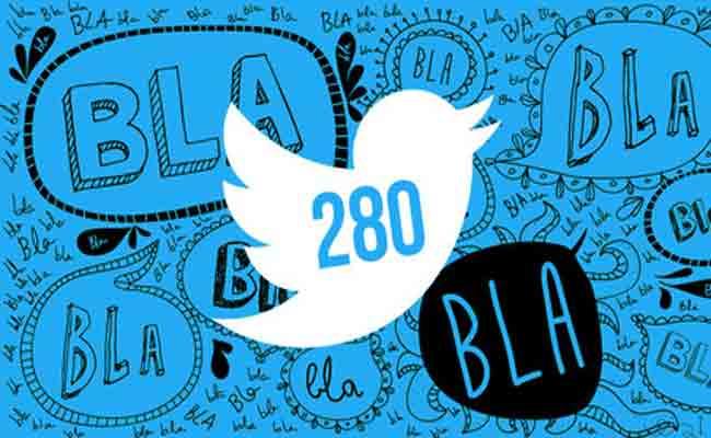 تويتر ينتقل إلى 280 حرف رسميا