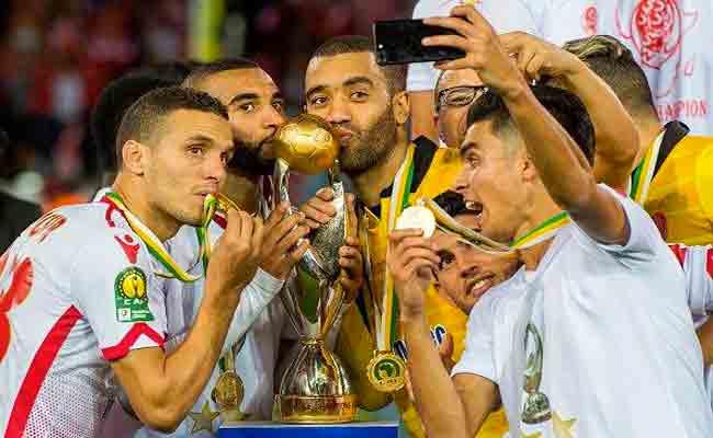 الوداد المغربي بطلا لدوري الأبطال