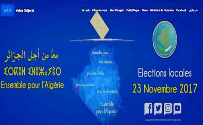 نشريتين خاصتين بالانتخابات المحلية على الموقع الإلكتروني لوزارة الاتصال