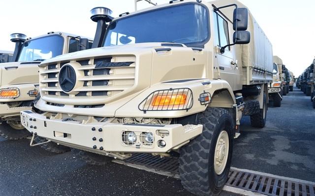الجيش يدمر 19 مخبأ للإرهابيين ويسلم 771 حافلة وشاحنة للمؤسسات عمومية وخاصة