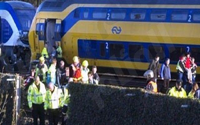 إصطدام قطارين بأمريكا