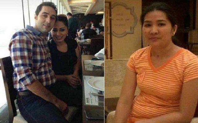 عساف وزوجته يقتلان خادمتهم الفلبينية