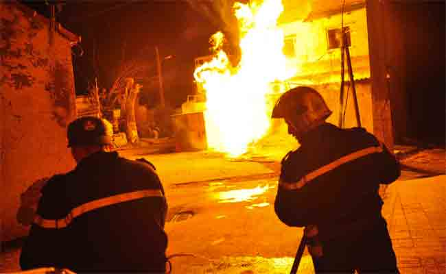 حريق منزل بسيدي بلعباس يودي بحياة طفلة