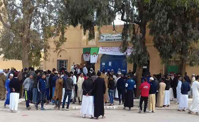 أصوات محتجة بالأغواط تطالب بتطبيق الإعدام في حق قتلة الأبرياء من الشباب والأطفال