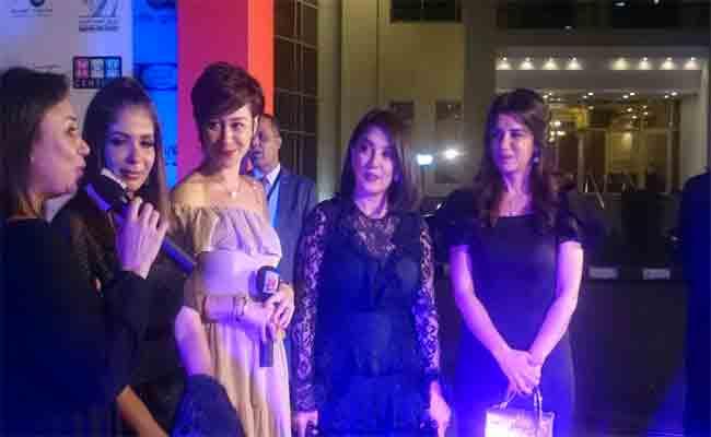 تكريم المناضلة جميلة بوحيرد في حفل افتتاح مهرجان أسوان لأفلام المرأة في نسخته الثانية