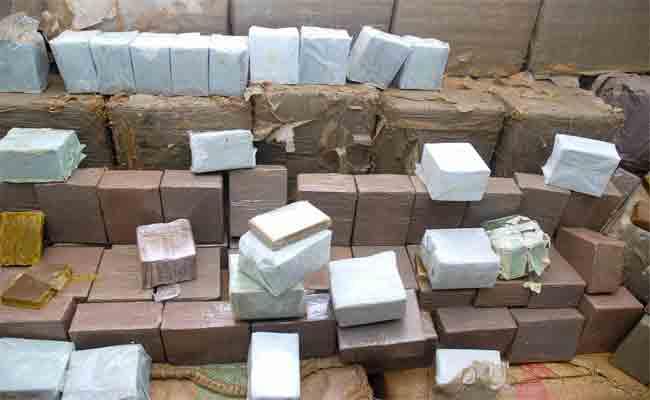 حصيلة المديرية العامة للأمن الوطني حول المتاجرة بالمخدرات 2017 : حجز نحو 7 أطنان من القنب الهندي