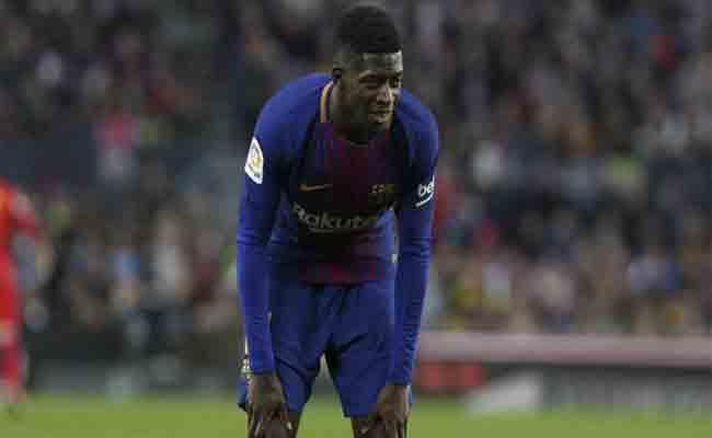ديمبيلي غيب عن برشلونة