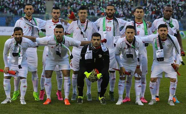 منتخب فلسطين يفوز على الجزائر وديا