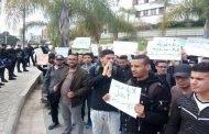 طلبة المحروقات و الكيمياء يواصلون الإحتجاج