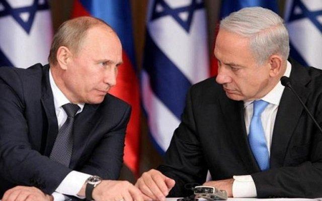 توتر بين إسرائيل وروسيا