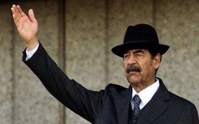 إلغاء حفل غنائي بسبب صدام حسين