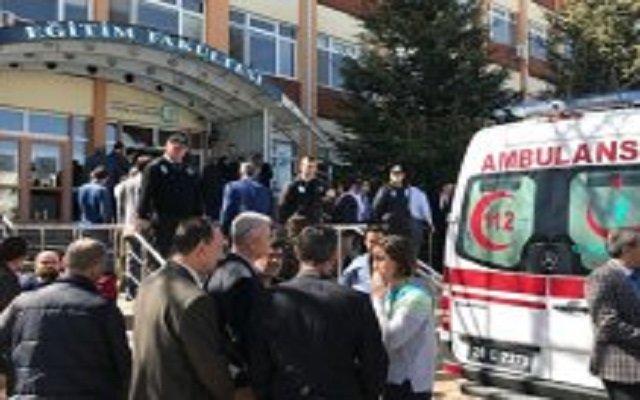 مجزرة في الحرم الجامعي بتركيا