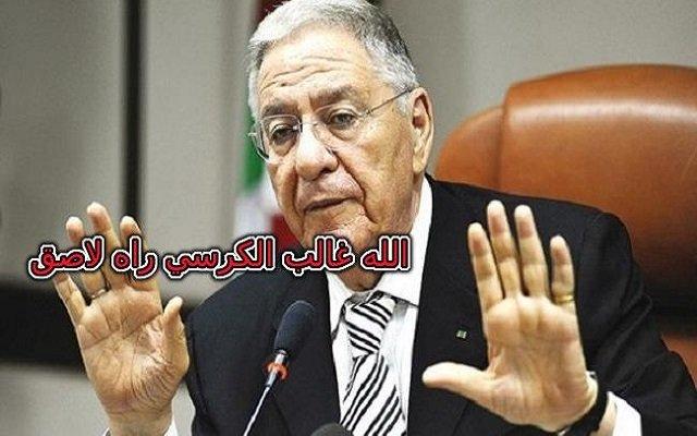 جمال ولد عباس نتشبث بنظرية الكرسي الملتصق