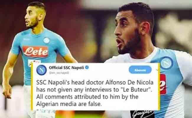 نادي نابيو يكذب الاعلام الجزائري