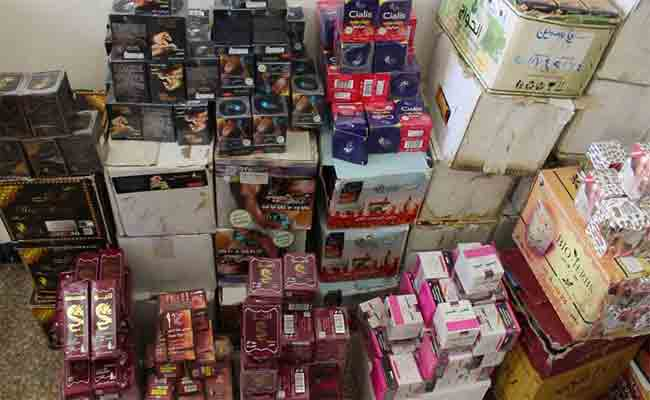 المديرية المحلية لقطاع التجارة بقسنطينة تحجز طن من المكملات الغذائية