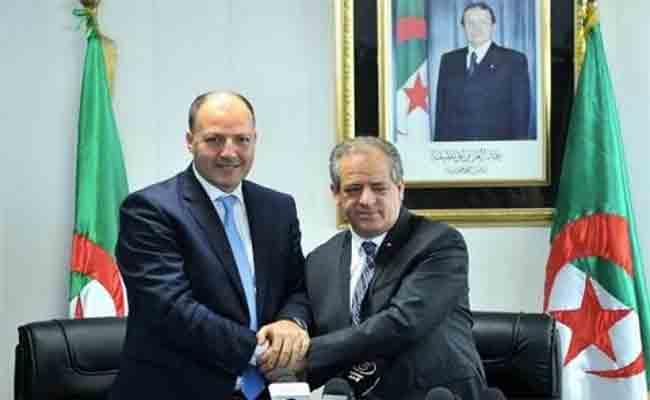 حكيم مدان يطلب دعم الوزير للفاف