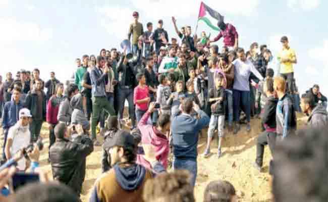 إدانة جزائرية للمجزرة التي ارتكبتها قوات الاحتلال الإسرائيلي في في يوم الأرض