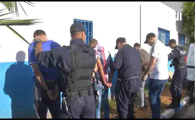 أمن العاصمة يقود عمليات مداهمة لأوكار الجريمة تسفر عن توقيف 238 متورطا