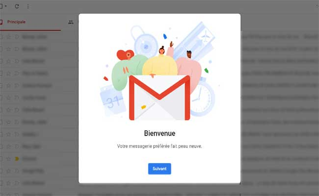 اكتشف كيف يمكنك الوصول إلى الواجهة الجديد من خدمة الريد الإلكتروني جميل