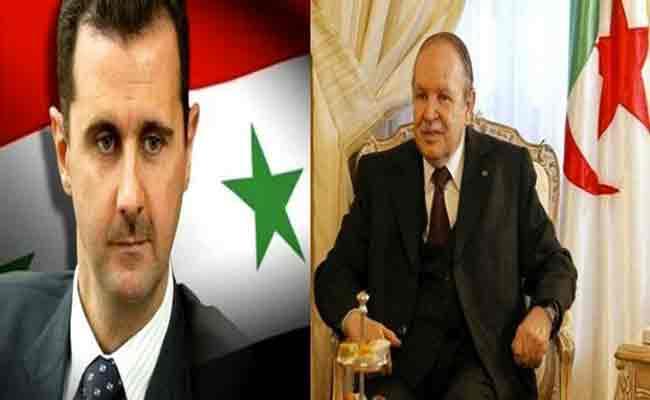 رئيس الجمهورية يبعث برقية تهنئة للرئيس السوري بمناسبة  الذكرى الـ72 لاستقلال بلاده