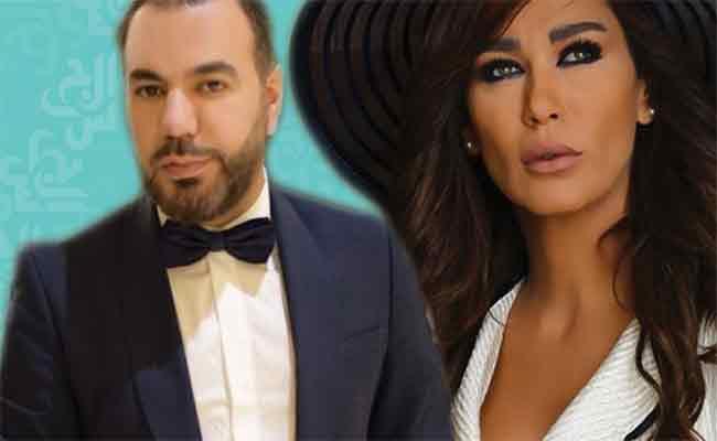 نادين الراسي تعلن عن خبر خطوبتها من اعلامي شهير من قلب دبي