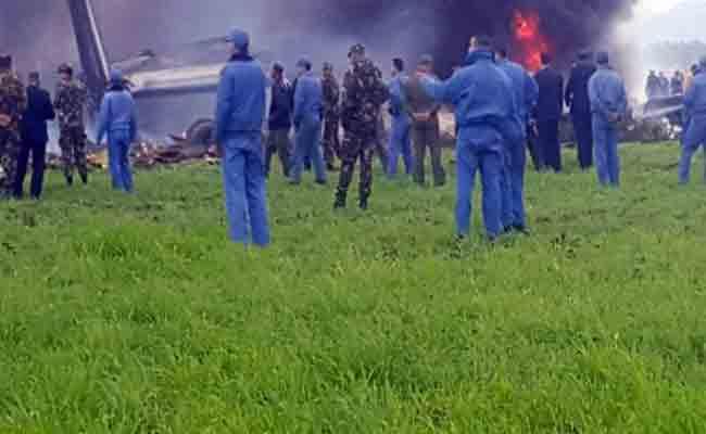 تعاطف دولي و وطني مع أسر ضحايا فاجعة سقوط الطائرة العسكرية ببوفاريك