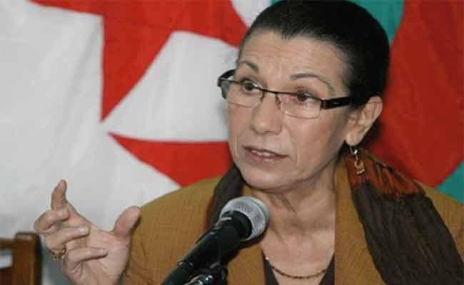 حنون تؤكد أن تقوية الجبهة الداخلية شرط لحماية الجزائر من التهديدات الخارجية