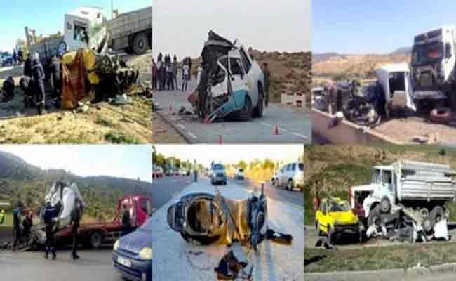 مقتل 31 شخصا و إصابة 1304 آخرين في ظرف 6 أيام !