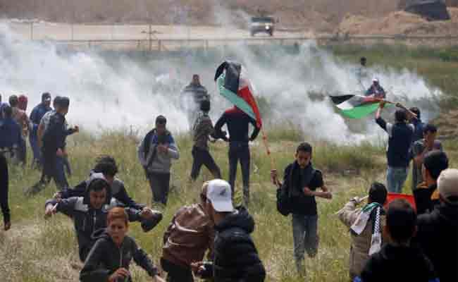 تنديد العديد من الأحزاب بالجريمة النكراء التي ارتكبها جيش الاحتلال الإسرائيلي في حق متظاهرين فلسطينيين