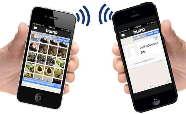 براءة اختراع من أبل لنقل البيانات بين هاتفين أي فون من خلال تقريبهما ببعضهما البعض