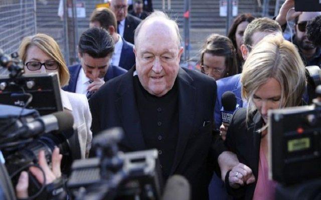 بتهمة التستر على اعتداء جنسي بحق أطفال الحكم ب12 شهر حبسا لرئيس أساقفة في أستراليا