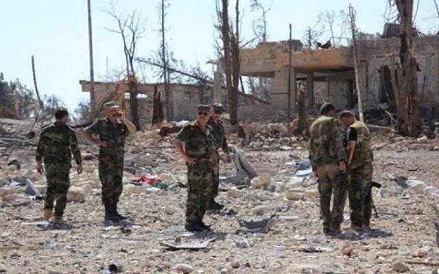 جيش بشار يحاصر أخر جيوب المعارضة في مدينة درعا