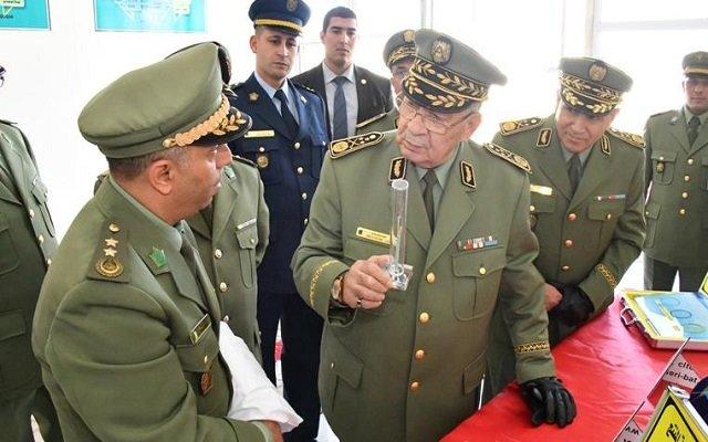 قايد صالح  يحكم قبضته على الدرك