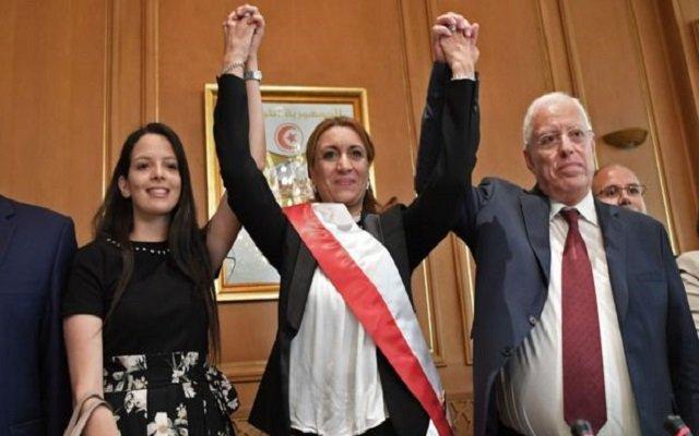 لأول مرة في تاريخ امرأة عمدة بلدية تونس