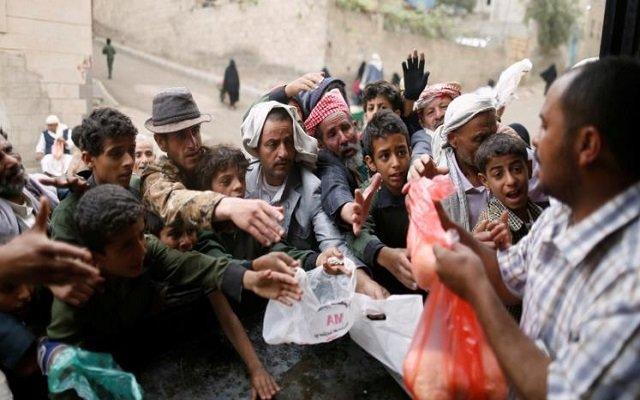 ارحموا عزيز قوم ذل اليمن على حافة المجاعة