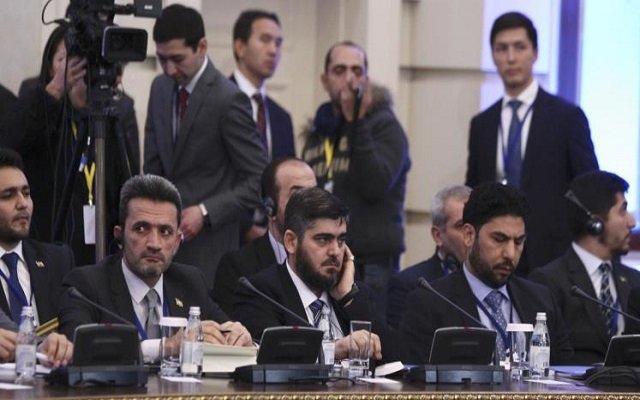 مفاوضات جديدة بين المعارضة السورية والروس؟!!